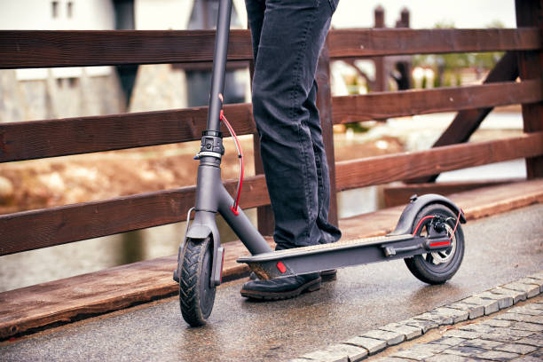 electric scooter for last mile transportation